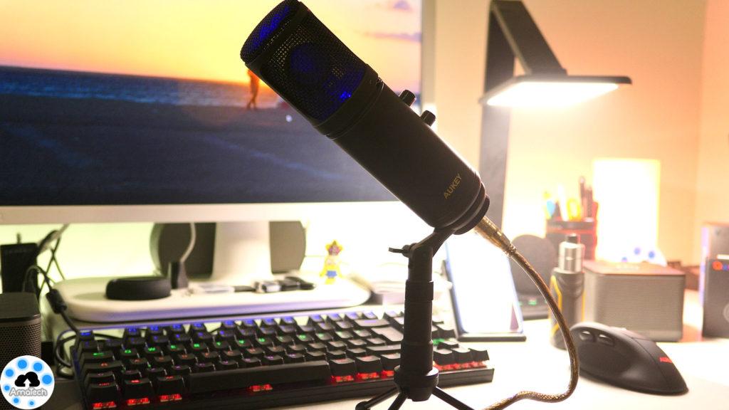 Recensione microfono a condensatore usb economico
