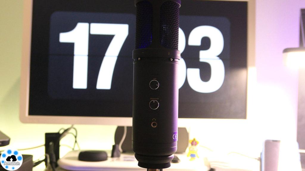 microfono a condensatore usb economico