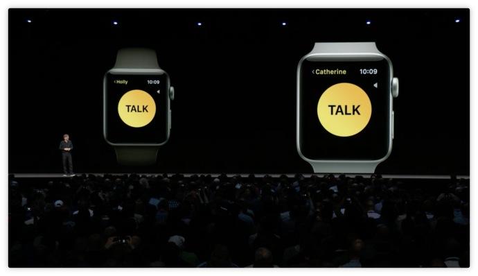 wallkie talkie apple watch