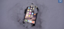 iPhone 6 Plus sotto la neve per 24 ore