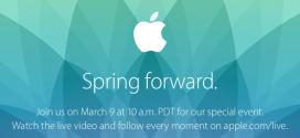 nuovo evento Apple 9 Marzo 2015