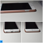 recensione cover case rose gold aiino