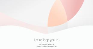 keynote apple 21 marzo 2016