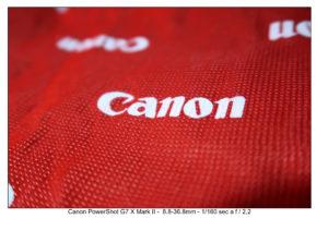 foto canon Powershot G7x Mark II