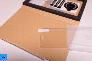 recensione pellicola con bordo in silicone