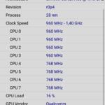 CPU Z Moto G5