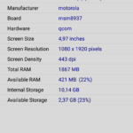 Moto G5 details