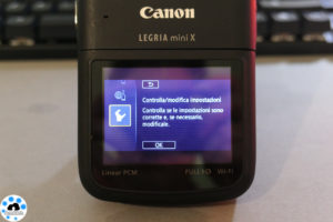 test Canon LEGRIA mini X
