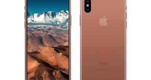 iPhone 8 copper gold