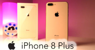 iPhone 8 Plus gold youtube