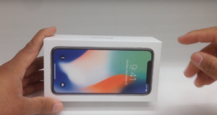 primo video unboxing iPhone X