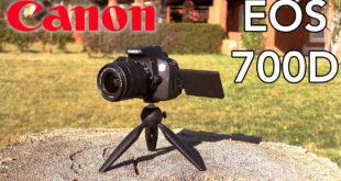 Canon EOS 700D youtube