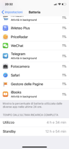 batteria iPhone X