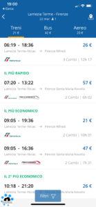 goeuro app per viaggiare iOS
