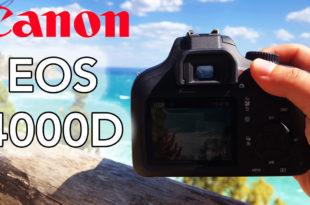 Canon EOS 4000D youtube