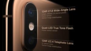 camera iPhone XS max