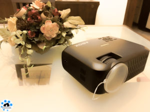 ABOX review projector