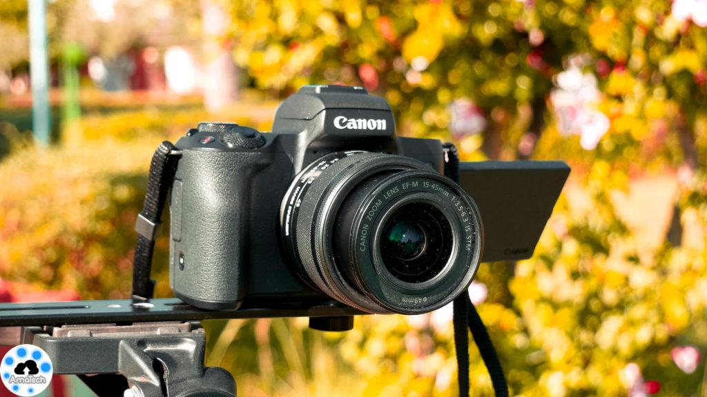 test Canon EOS M50