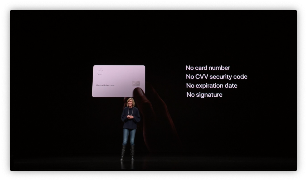 Apple Card fisica