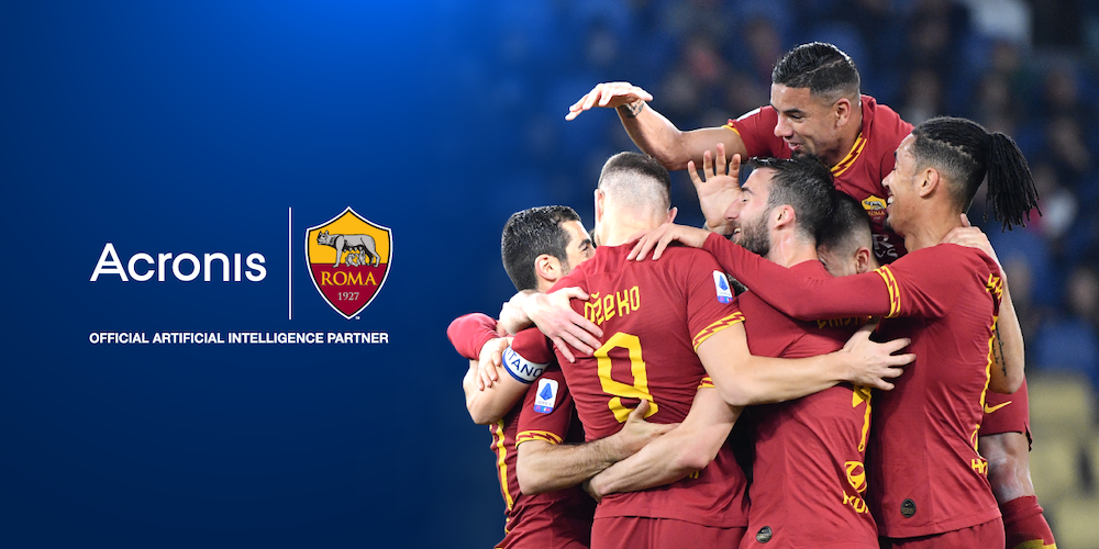 La partnership Acronis-AS Roma